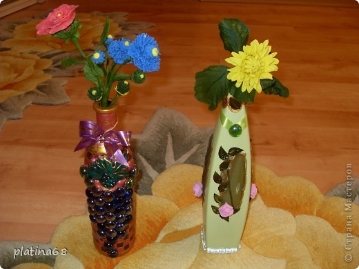 Цветы из холодного фарфора. фото 1