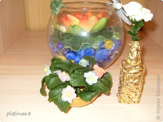 Цветы из холодного фарфора. фото 3
