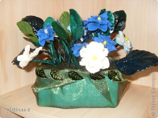 Цветы из холодного фарфора. фото 4