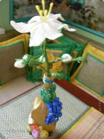 Цветы из холодного фарфора. фото 6