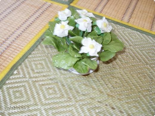 Цветы из холодного фарфора. фото 5