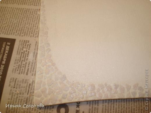Вот такое зимнее панно у меня получилось. Спасибо Натуле Л. http://stranamasterov.ru/node/114491?c=favusers , у неёё подсмотрела идею со скорлупой. фото 5