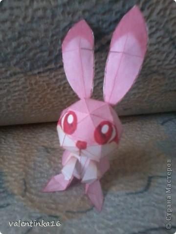 розовая зайка и СХЕМКА фото 3