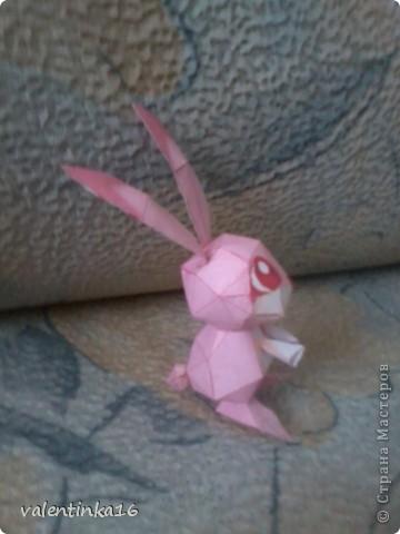 розовая зайка и СХЕМКА фото 2