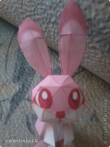 розовая зайка и СХЕМКА фото 1