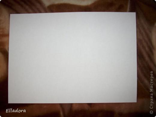 Мастер - класс на открытку конверт голубую фото 2