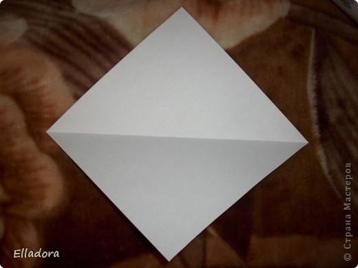 Мастер - класс на открытку конверт голубую фото 5