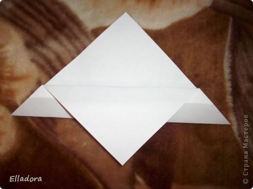 Мастер - класс на открытку конверт голубую фото 6