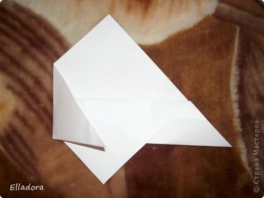 Мастер - класс на открытку конверт голубую фото 7