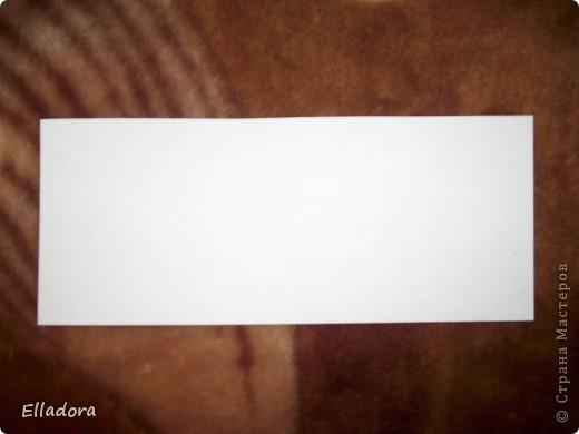 Мастер - класс на открытку конверт голубую фото 9