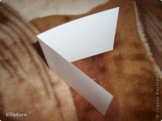Мастер - класс на открытку конверт голубую фото 10