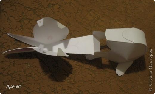 На просторах Интернета нашла схему сборки еще одного кролика. Поделка очень простая и легко может быть выполнена детьми. фото 5