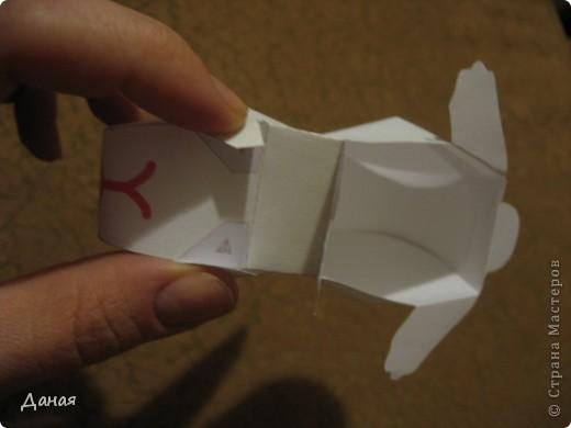 На просторах Интернета нашла схему сборки еще одного кролика. Поделка очень простая и легко может быть выполнена детьми. фото 6