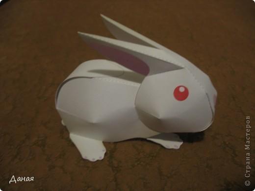 На просторах Интернета нашла схему сборки еще одного кролика. Поделка очень простая и легко может быть выполнена детьми. фото 7