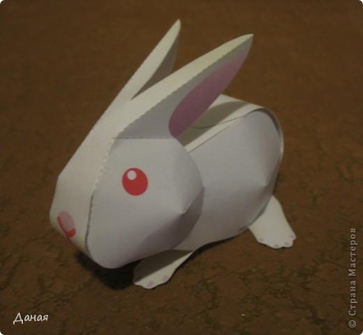 На просторах Интернета нашла схему сборки еще одного кролика. Поделка очень простая и легко может быть выполнена детьми. фото 8