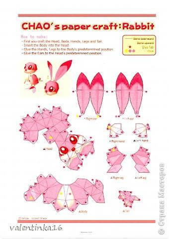 розовая зайка и СХЕМКА фото 4
