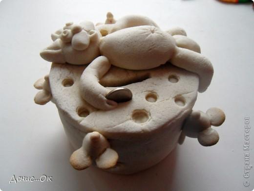 Копилка. Котик на сыре. фото 16
