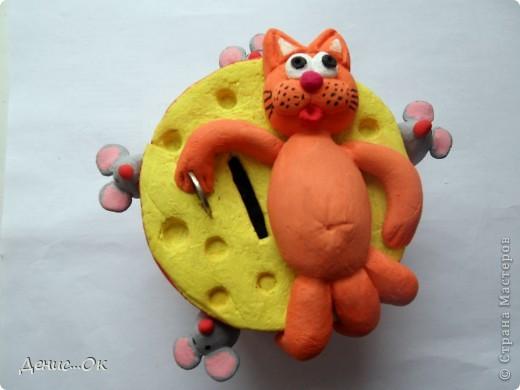 Копилка. Котик на сыре. фото 19