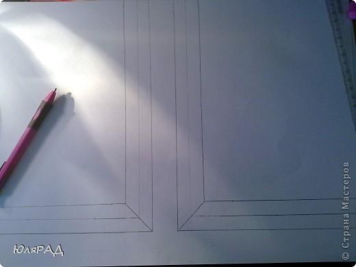 """В школе дали задание на тему снежинок из бумаги. Вот какая картина у нас с доченькой получилась. """"МЕТЕЛЬ ЗА ОКНОМ"""" фото 3"""