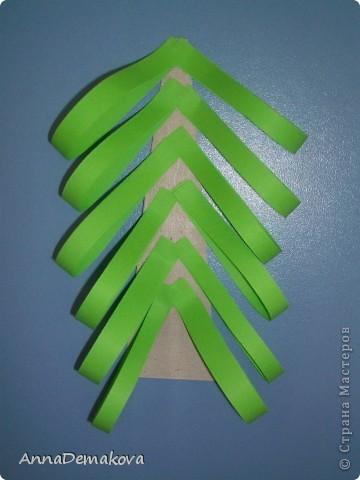 Вот такие елочки мы делали с дошколятами. Детям 5-5,5 лет. фото 7