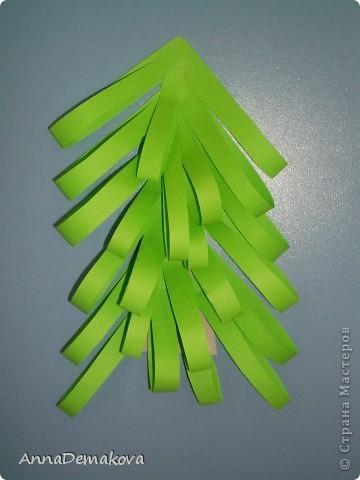 Вот такие елочки мы делали с дошколятами. Детям 5-5,5 лет. фото 9