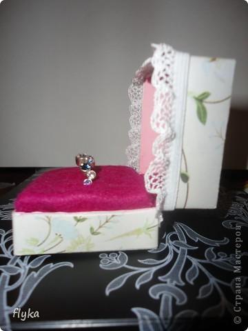 Коробочка для кольца фото 1