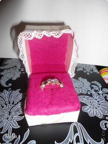 Коробочка для кольца фото 3