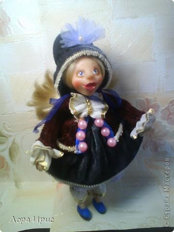 Куколка сделана из Cernit. Размер куклы 22 см. фото 1