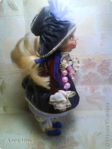 Куколка сделана из Cernit. Размер куклы 22 см. фото 2