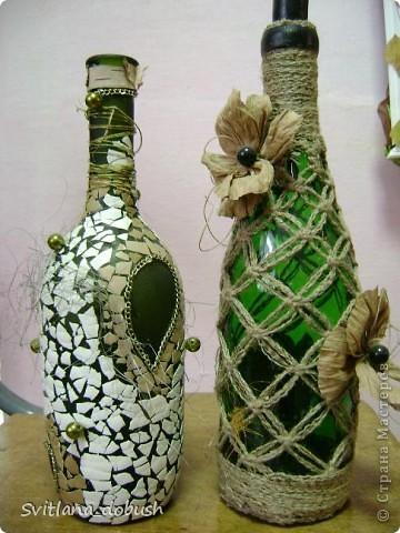 Декор бутилок фото 2
