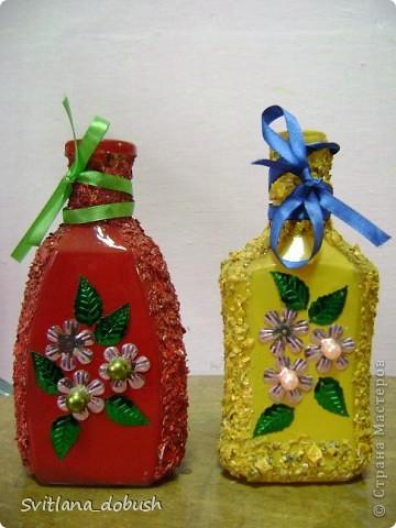 Декор бутилок фото 3