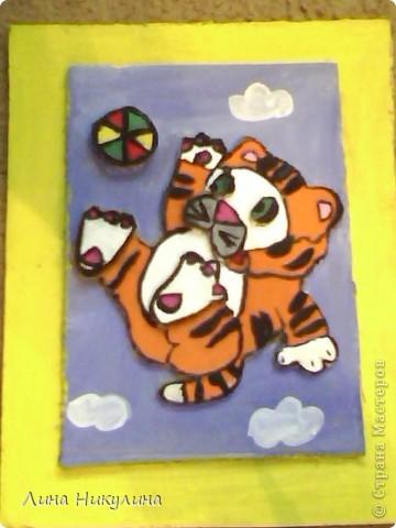 весёлый тигрёнок  фото 1