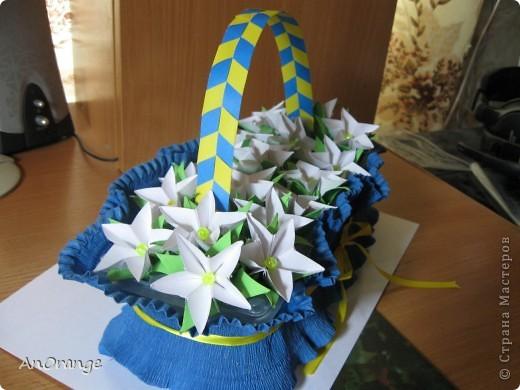 Корзинка сделана из упаковки для яиц.  фото 9