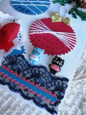 Заглянула я намедни к Саше http://stranamasterov.ru/user/16084, а у нее там...., красота и такие милые идейки, такие штучки и прочие завлекалочки. Сразу ножницы в руки, думаю, сделаю шарики по- быстрому. Да не тут-то было... фото 3