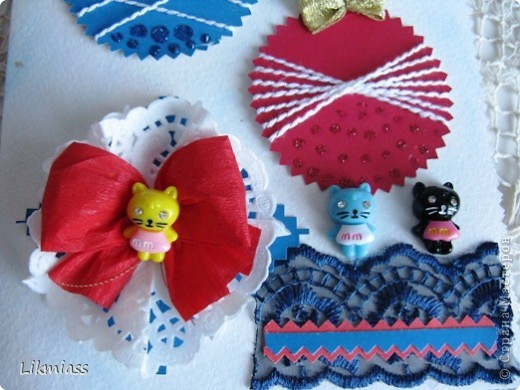 Заглянула я намедни к Саше http://stranamasterov.ru/user/16084, а у нее там...., красота и такие милые идейки, такие штучки и прочие завлекалочки. Сразу ножницы в руки, думаю, сделаю шарики по- быстрому. Да не тут-то было... фото 5