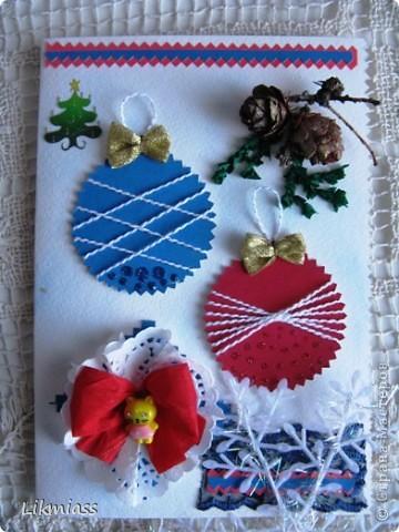 Заглянула я намедни к Саше http://stranamasterov.ru/user/16084, а у нее там...., красота и такие милые идейки, такие штучки и прочие завлекалочки. Сразу ножницы в руки, думаю, сделаю шарики по- быстрому. Да не тут-то было... фото 1