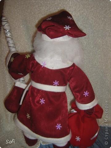 Вот такой пошился у меня добрячок Дедушка Мороз. фото 6