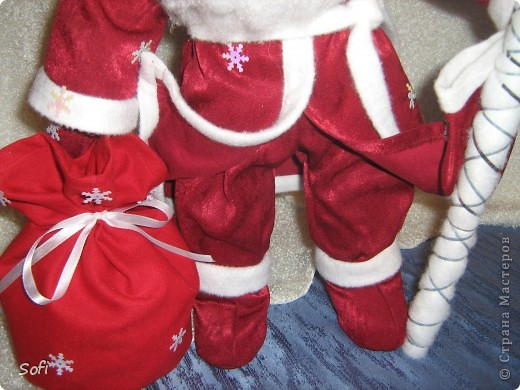 Вот такой пошился у меня добрячок Дедушка Мороз. фото 7