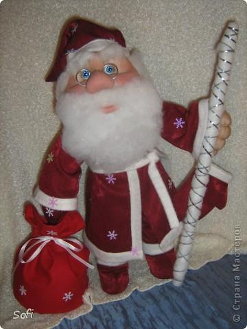 Вот такой пошился у меня добрячок Дедушка Мороз. фото 2
