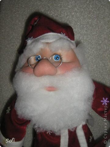 Вот такой пошился у меня добрячок Дедушка Мороз. фото 8