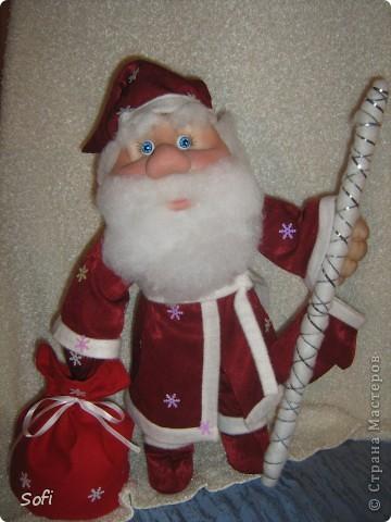 Вот такой пошился у меня добрячок Дедушка Мороз. фото 9