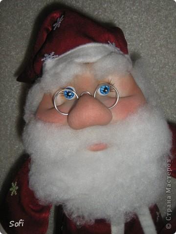 Вот такой пошился у меня добрячок Дедушка Мороз. фото 10