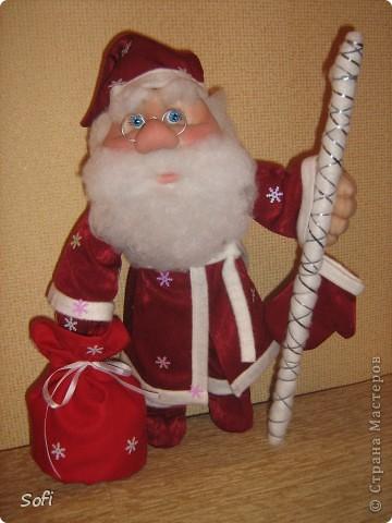 Вот такой пошился у меня добрячок Дедушка Мороз. фото 1