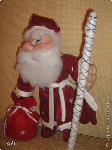Вот такой пошился у меня добрячок Дедушка Мороз. фото 3