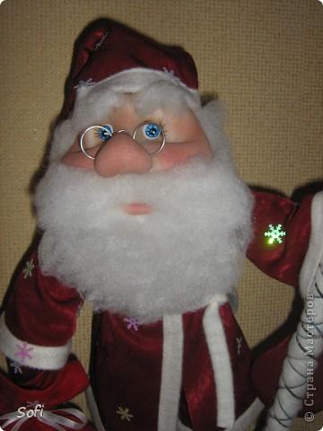 Вот такой пошился у меня добрячок Дедушка Мороз. фото 4