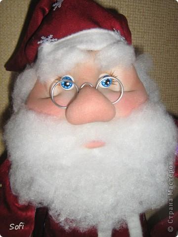 Вот такой пошился у меня добрячок Дедушка Мороз. фото 5