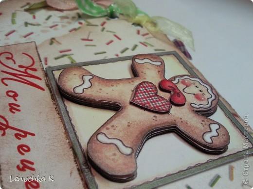 Пора делать подарки к Новому году... вот и пришла идея в голову сделать вот такой блокнотик для кулинарных рецептов в виде кекса... фото 5