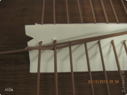 Мастер-класс Плетение Плетение квадратной прямоугольной  коробки Бумага газетная Трубочки бумажные фото 2