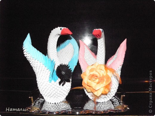 свадебные лебеди фото 1