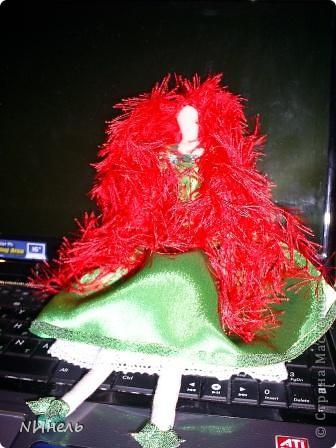 Вот такая ирландская феюшка была сшита в подарок на Новый Год очень жизнерадостному и позитивному человеку, которая обожает Ирландию и здорово прыгает ирландские танцы))) фото 2